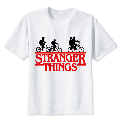 t shirt stranger things bike logo