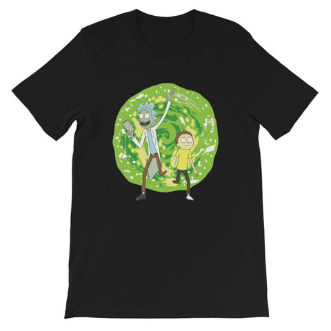 t shirt Univers Rick et Morty