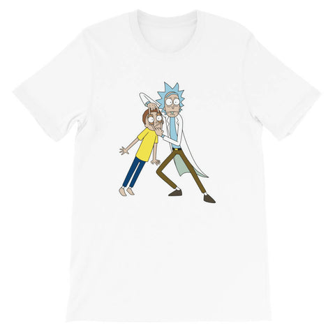 t shirt rick et morty look
