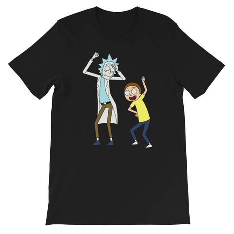 t shirt Rick et Morty Drole