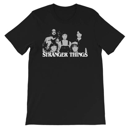 t shirt stranger things lucas dustin will mike eleven