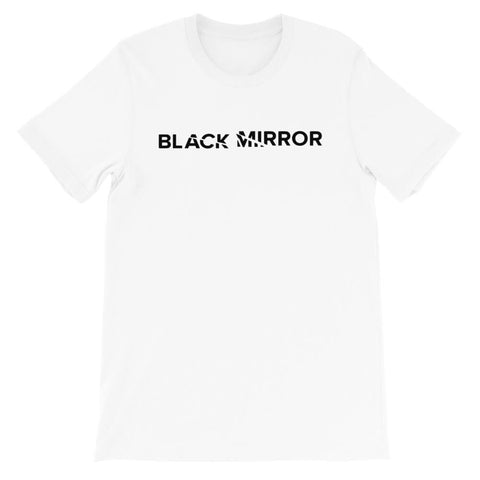 t shirt Logo Black Mirror