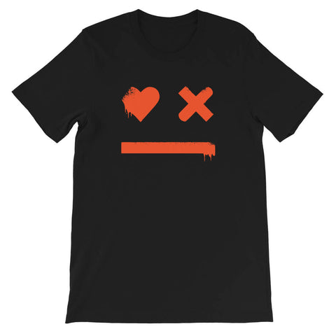 t shirt love death robots smiley