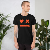 smiley love death robot t shirt
