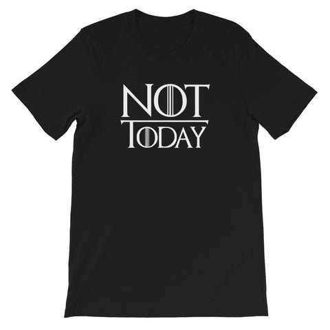 t shirt not today game of thrones