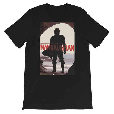 tee shirt the mandalorian heros