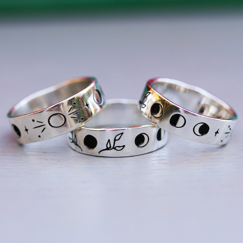 Lunar Phases Ring