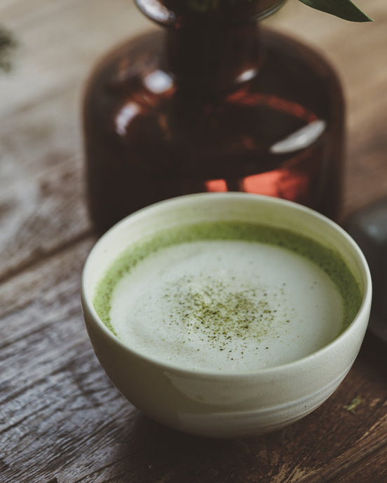 How to: Matcha Soy Latte from teakha Recipe