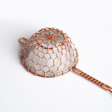Load image into Gallery viewer, Kanaami-Tsuji Tea Strainer (copper)