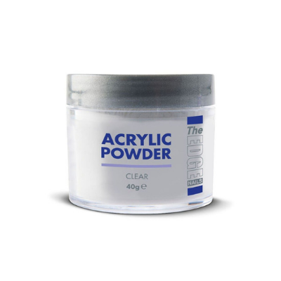 The Edge Acrylic Powder Clear 40g - Revolution Nail Supplies