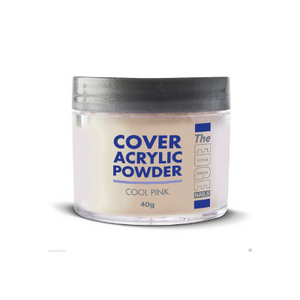 The Edge Cover Acrylic Powder Cool Pink 40g - Revolution Nail Supplies