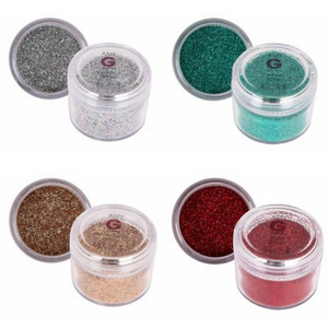 Amy G Christmas Glitter Mix Kit - Revolution Nail Supplies