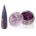Amy G Chameleon Flakes Pink