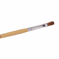The Edge No 6 Kolinsky Sable Flat Brush