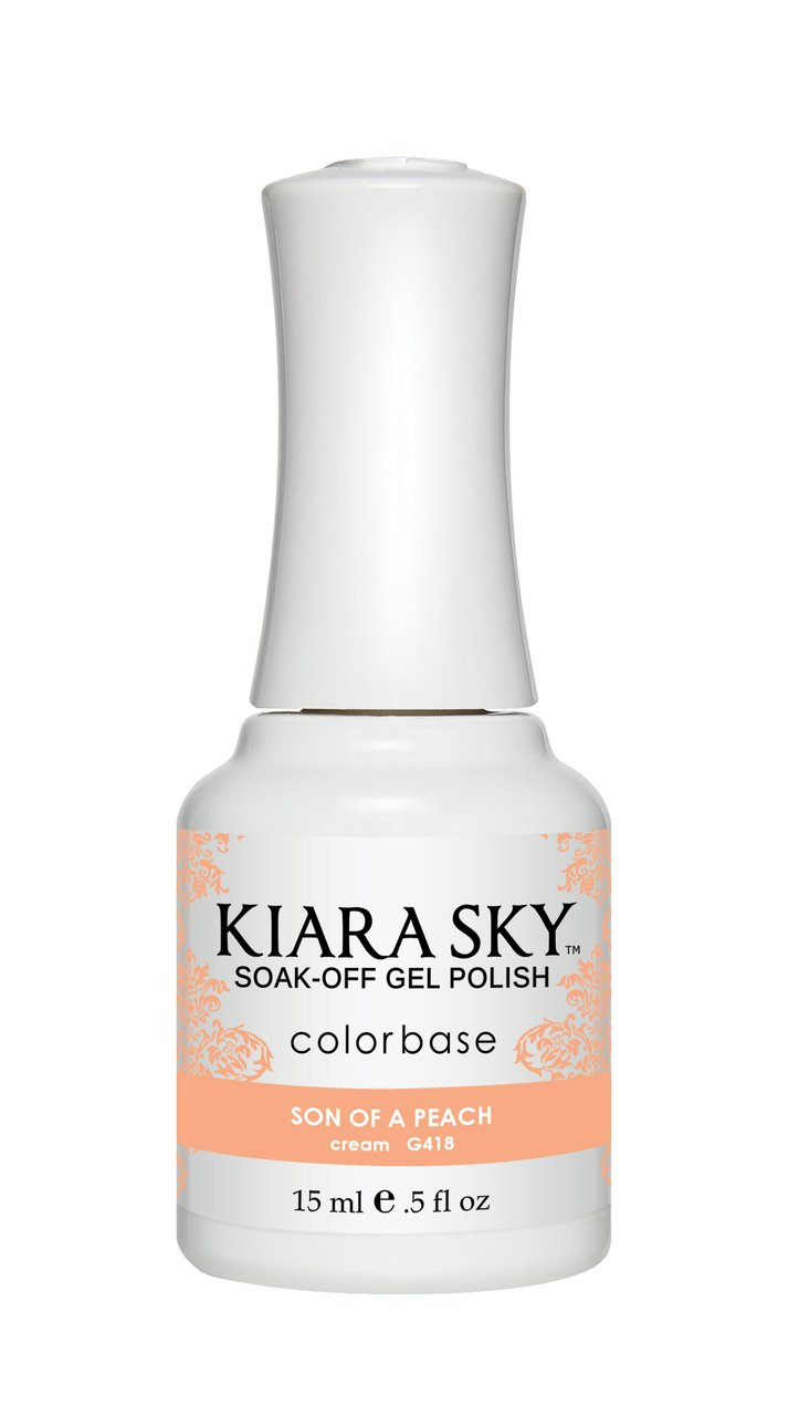 Kiara Sky Gel Polish Son of a Peach 15ml - Revolution Nail Supplies