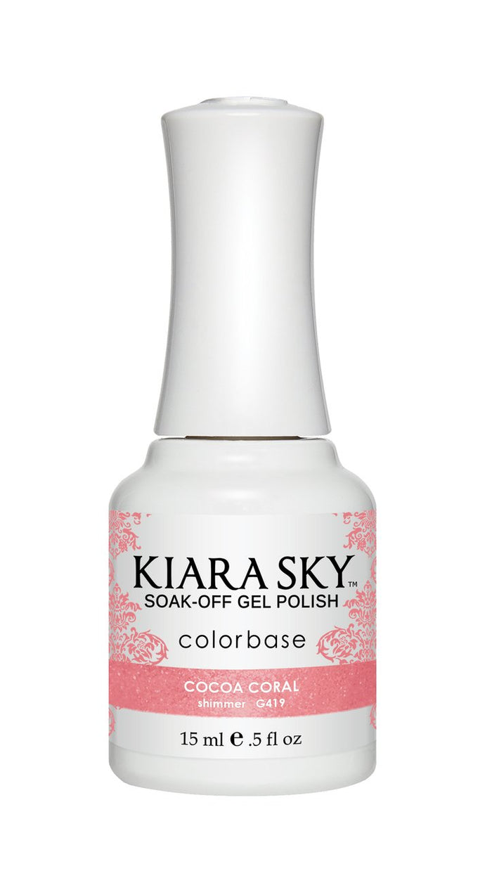 Kiara Sky Gel Polish Cocoa Coral 15ml