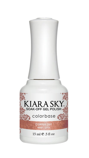 Kiara Sky Gel Polish Copper Out 15ml - Revolution Nail Supplies