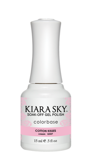 Kiara Sky Gel Polish Cotton Kisses 15ml - Revolution Nail Supplies