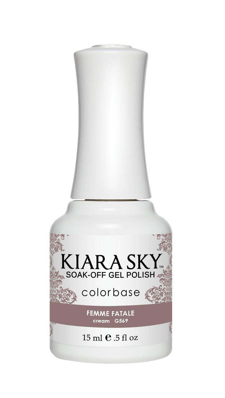 Kiara Sky Gel Polish Femme Fatale 15ml - Revolution Nail Supplies