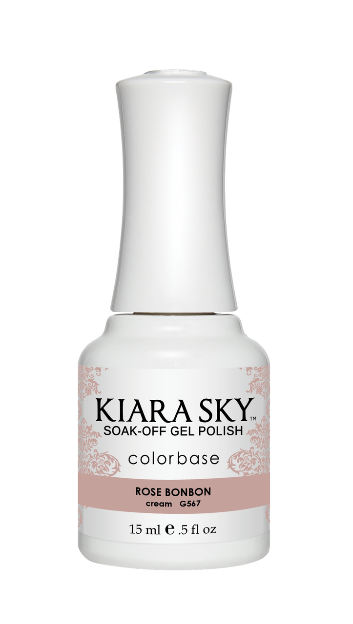 Kiara Sky Gel Polish Rose BonBon 15ml - Revolution Nail Supplies
