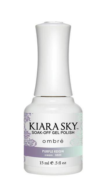 Kiara Sky Gel Polish Ombre Purple Reign 15ml - Revolution Nail Supplies
