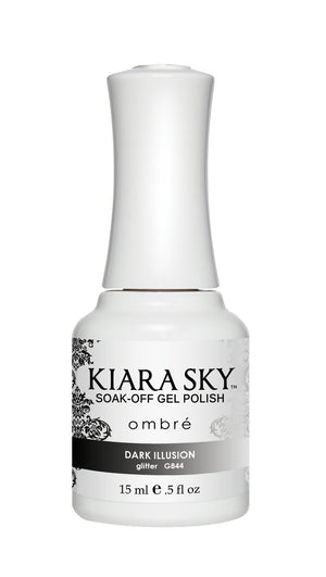Kiara Sky Gel Polish Ombre Dark Illusion 15ml - Revolution Nail Supplies