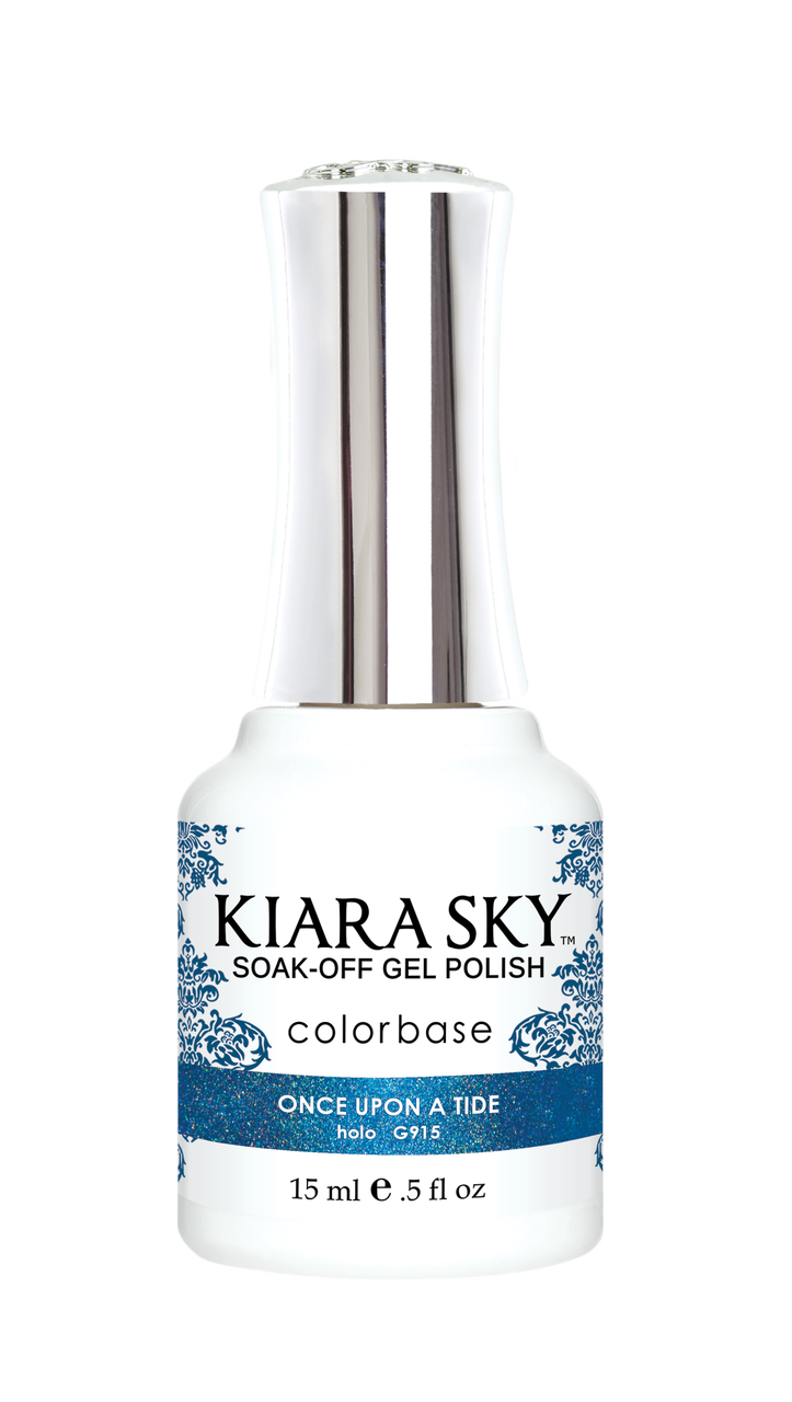 Kiara Sky Gel Polish Hologram Mermaid Once Upon a Tide 15ml - Revolution Nail Supplies