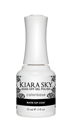 Kiara Sky Gel Polish Essentials Matte Top Coat 15ml - Revolution Nail Supplies