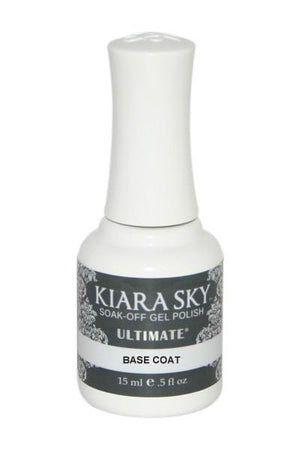 Kiara Sky Gel Polish Essentials Ultimate Base Coat 15ml - Revolution Nail Supplies