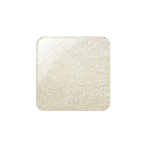 Glam and Glits Glitter Acrylic Powder Snow White 2oz