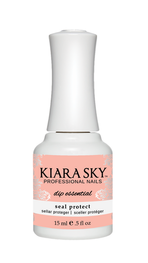 Kiara Sky Dip Powder Seal Protect 15ml - Revolution Nail Supplies