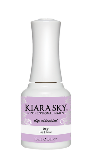 Kiara Sky Dip Powder Top Coat 15ml - Revolution Nail Supplies