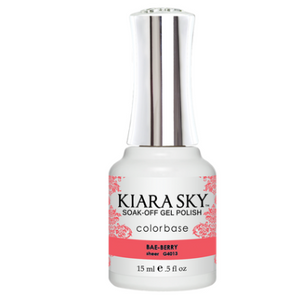Kiara Sky Jelly Gel Polish Bae-Berry 15ml - Revolution Nail Supplies
