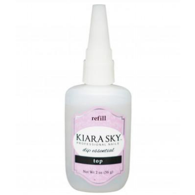 Kiara Sky Dip Essential Top Coat Refill 2oz - Revolution Nail Supplies