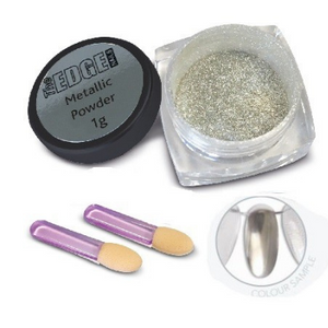The Edge Metallic Powder - Revolution Nail Supplies
