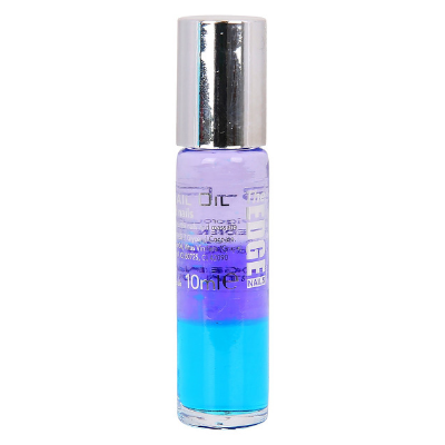 The Edge 3 Phase Nail Oil for Damaged Nails Blue 10ml