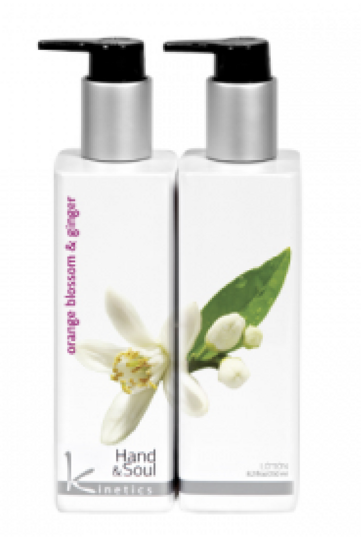 Kinetics Hand And Body Lotion Orange Blossom And Ginger 250ml - Revolution Nail Supplies