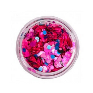 Amy G Nail Art Sequins Bubblegum Mix - Revolution Nail Supplies
