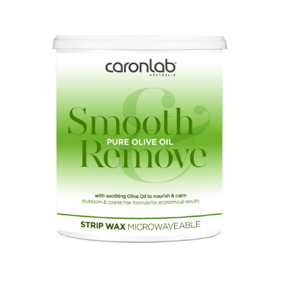 Caronlab Pure Olive Oil Strip Wax 800g - Microwaveable - Revolution Nail Supplies