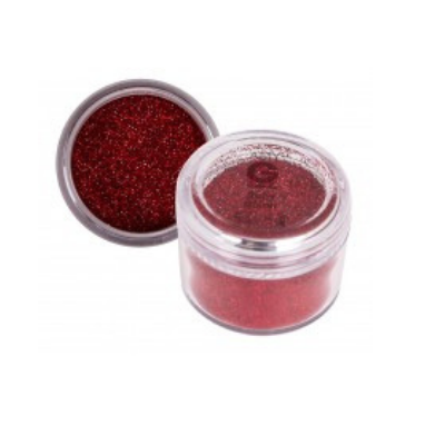 Amy G Glitter Ruby 8g - Revolution Nail Supplies