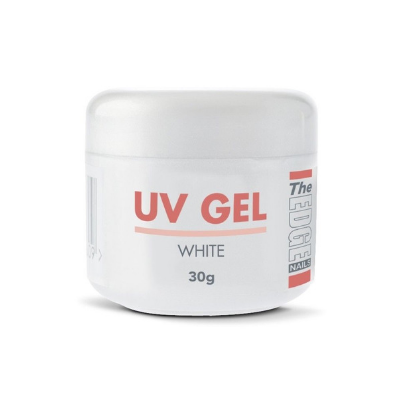 The Edge UV Gel White 30g - Revolution Nail Supplies