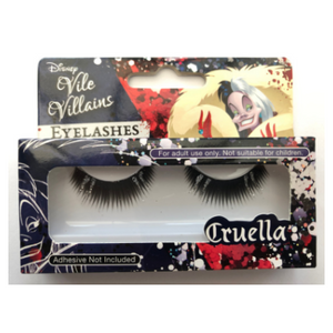 Disney Vile Villains Cruella Glitter Eyelashes - Revolution Nail Supplies