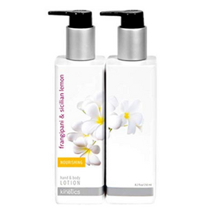 Kinetics Hand And Body Lotion Frangipani And Sicilian Lemon 250ml - Revolution Nail Supplies