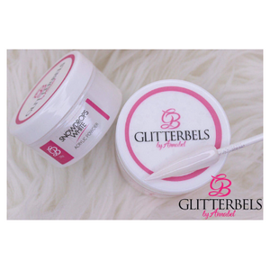 Glitterbels Acrylic Powder Snowdrop White 50g - Revolution Nail Supplies