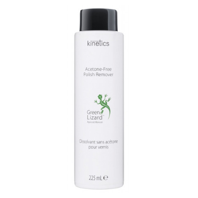Kinetics Green Lizard Acetone Free Polish Remover 225ml