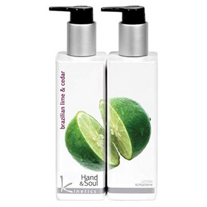 Kinetics Hand And Body Lotion Brazilian Lime And Cedar 250ml - Revolution Nail Supplies