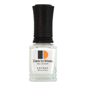 LeChat Nail Polish Flawless White 15ml - Revolution Nail Supplies