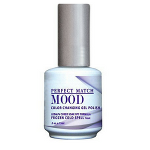 LeChat Mood Changing Gel Polish Frozen Cold Spell 15ml - Revolution Nail Supplies