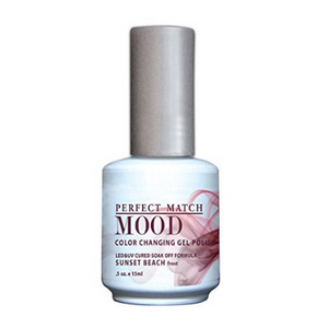 LeChat Mood Changing Gel Polish Sunset Beach 15ml - Revolution Nail Supplies