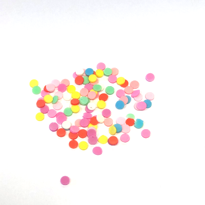 3D Round Nail Art Decoration Sherbet Mix 4g